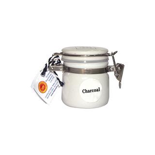 Charcoal Sea Salt PDO White
