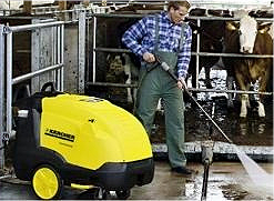 Hot Water Pressure Washer - 415v
