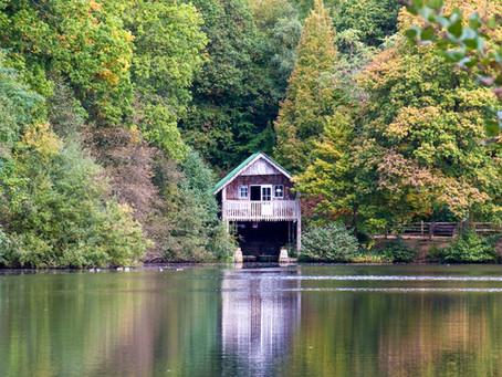 Rowes Flashe Boathouse, Winkworth Arboretum