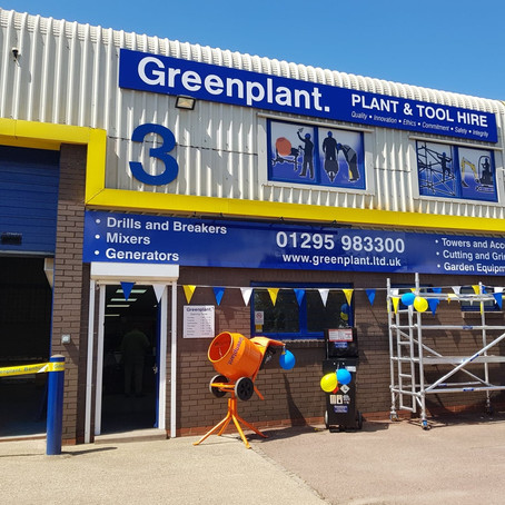 Greenplant Banbury depot opening a success!