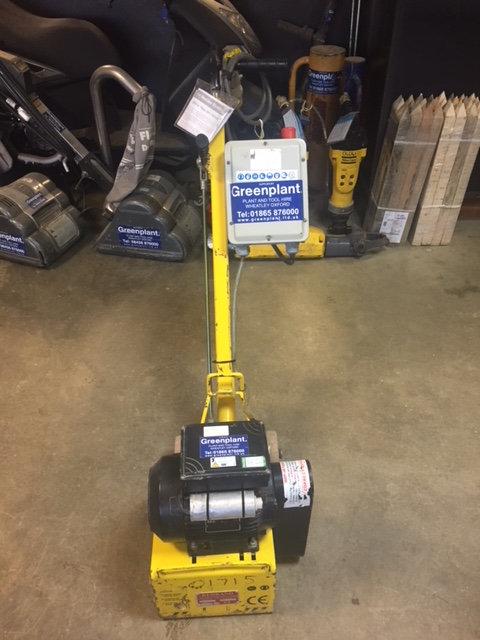 Floor Scabbler 110V