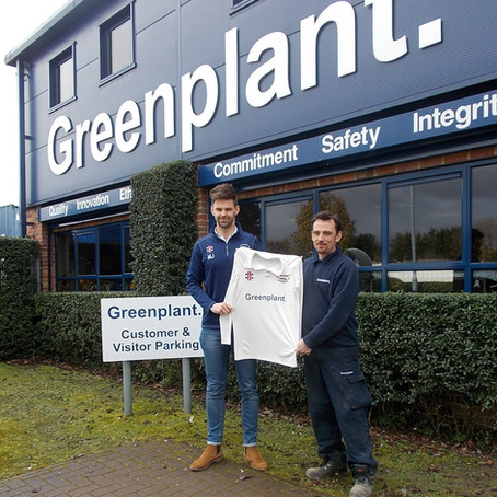 Greenplant Sponsor Local Cricket Club
