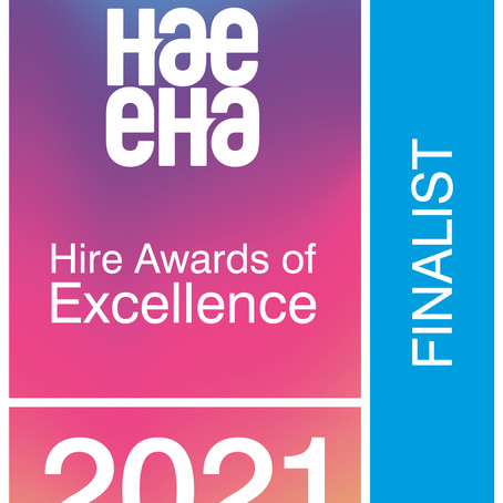 Greenplant are finalists at the Hire Awards of Excellence!