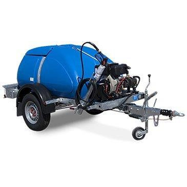 1137.5 L Bowser c/w 3000psi Pressure Washer