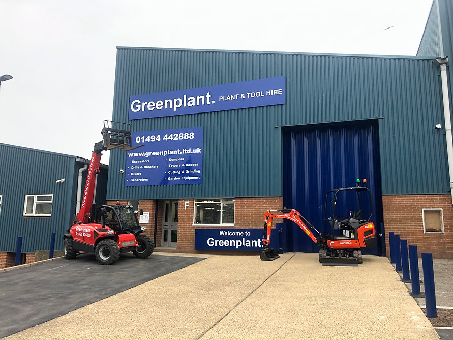 High wycombe plant hire