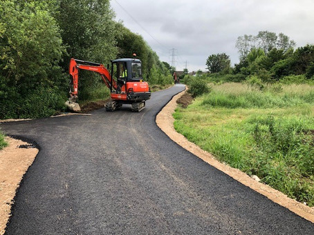 Haydon Hill Cycleway Project Continued