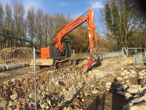 Machine Mounted Breakers - 6-21 Tonne Excavators