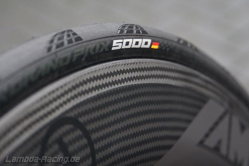 CONTINENTAL GP 5000 Reifen/Schlauch-Set (inkl. Montage)