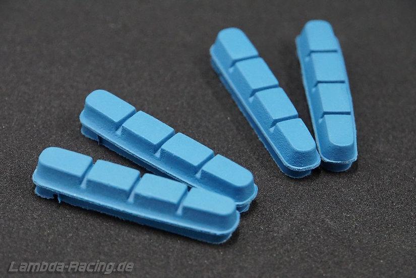 Carbon Bremsbeläge blau² und schwarz