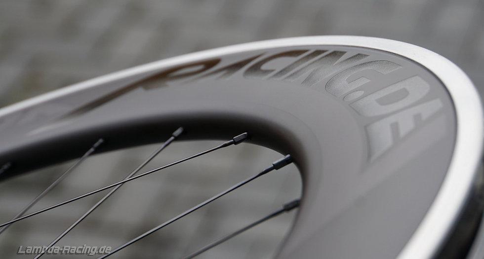 60/80 Alu-Carbon Laufradsatz