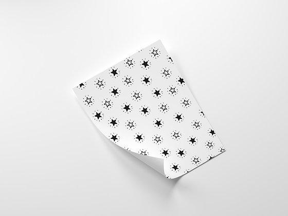 נייר עטיפה כוכבים