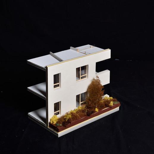 Maquette de façade