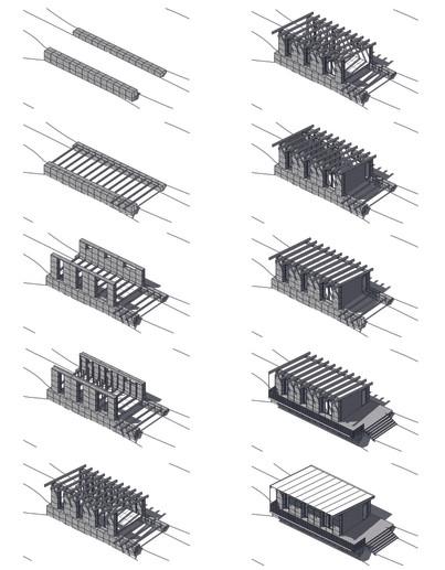 Etapes de construction