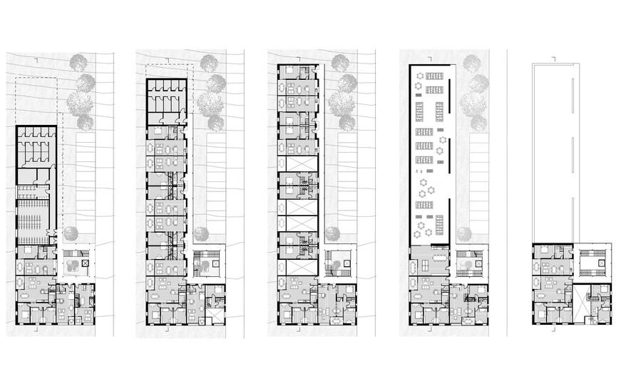 Plans d'étages