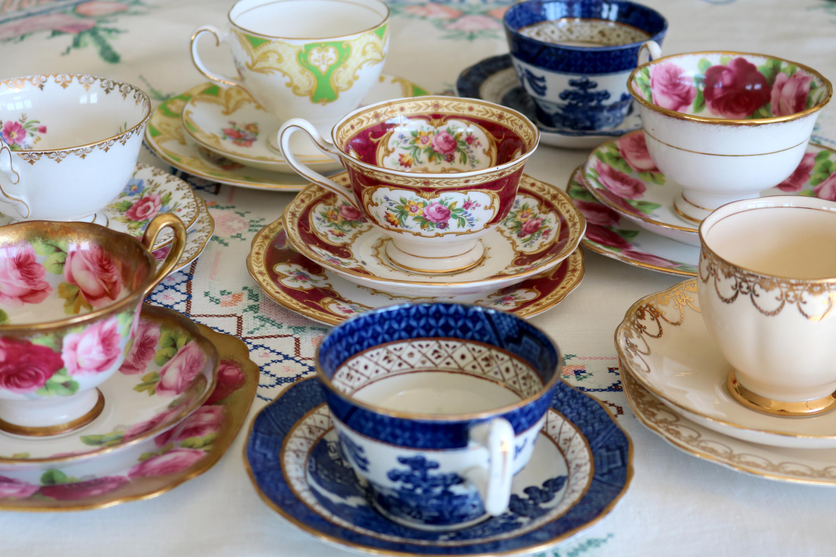 Tea Cups Group