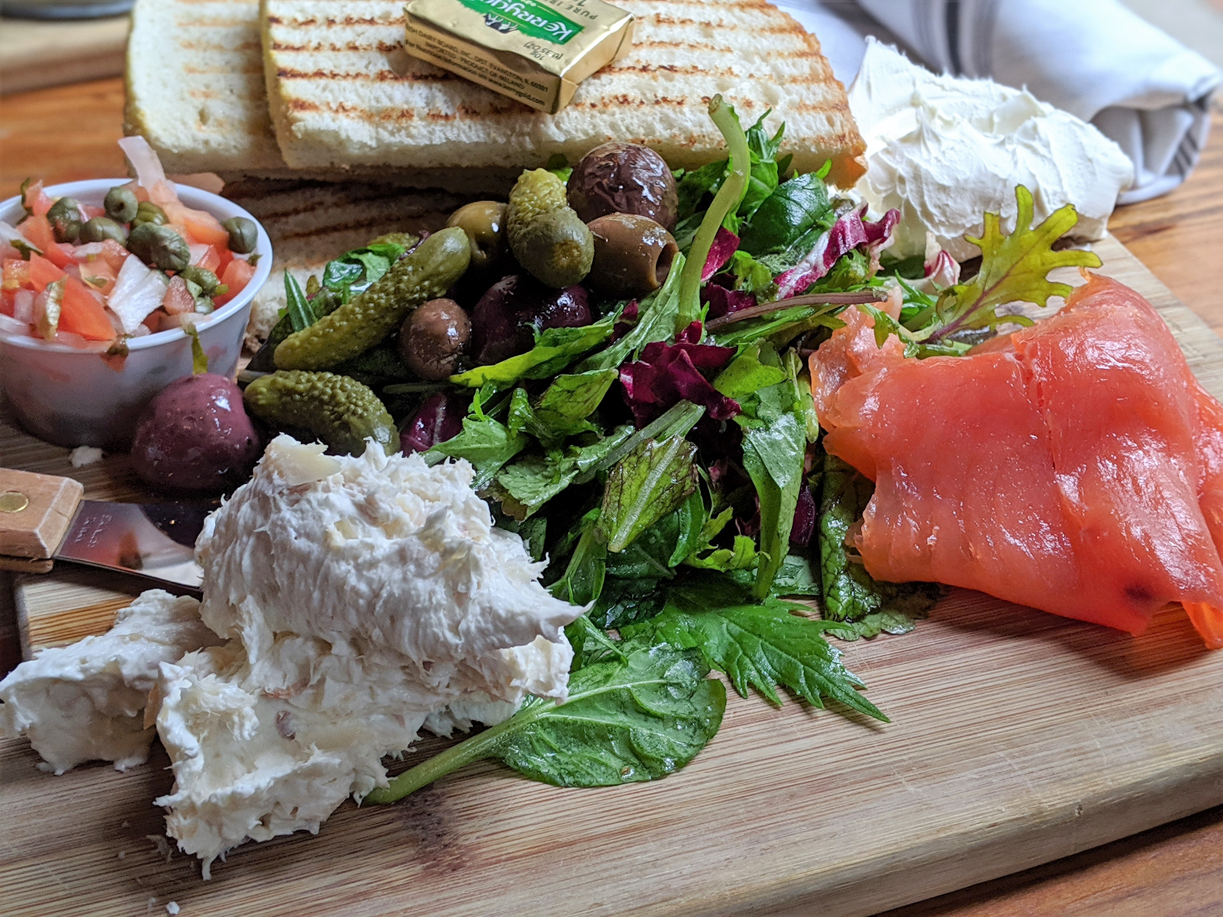Smoked Salmon brunch from Peckish Pig