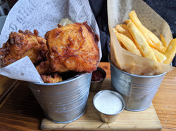 Fish and Chips from Peckish Pig