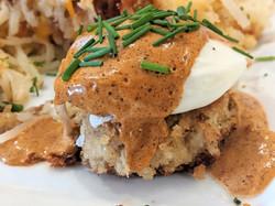 Crab cake benedict #2
