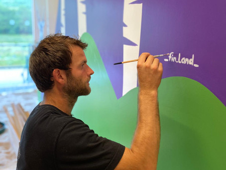 Local Artist Transforms The Den