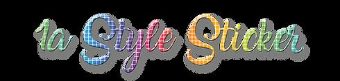1A Style Sticker Logo