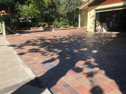 Mission paver installation