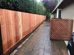 One-side Fence