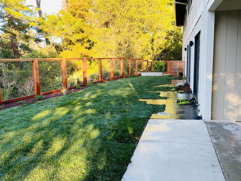 Back yard Installation