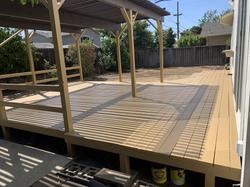 Deck repair and refreshing