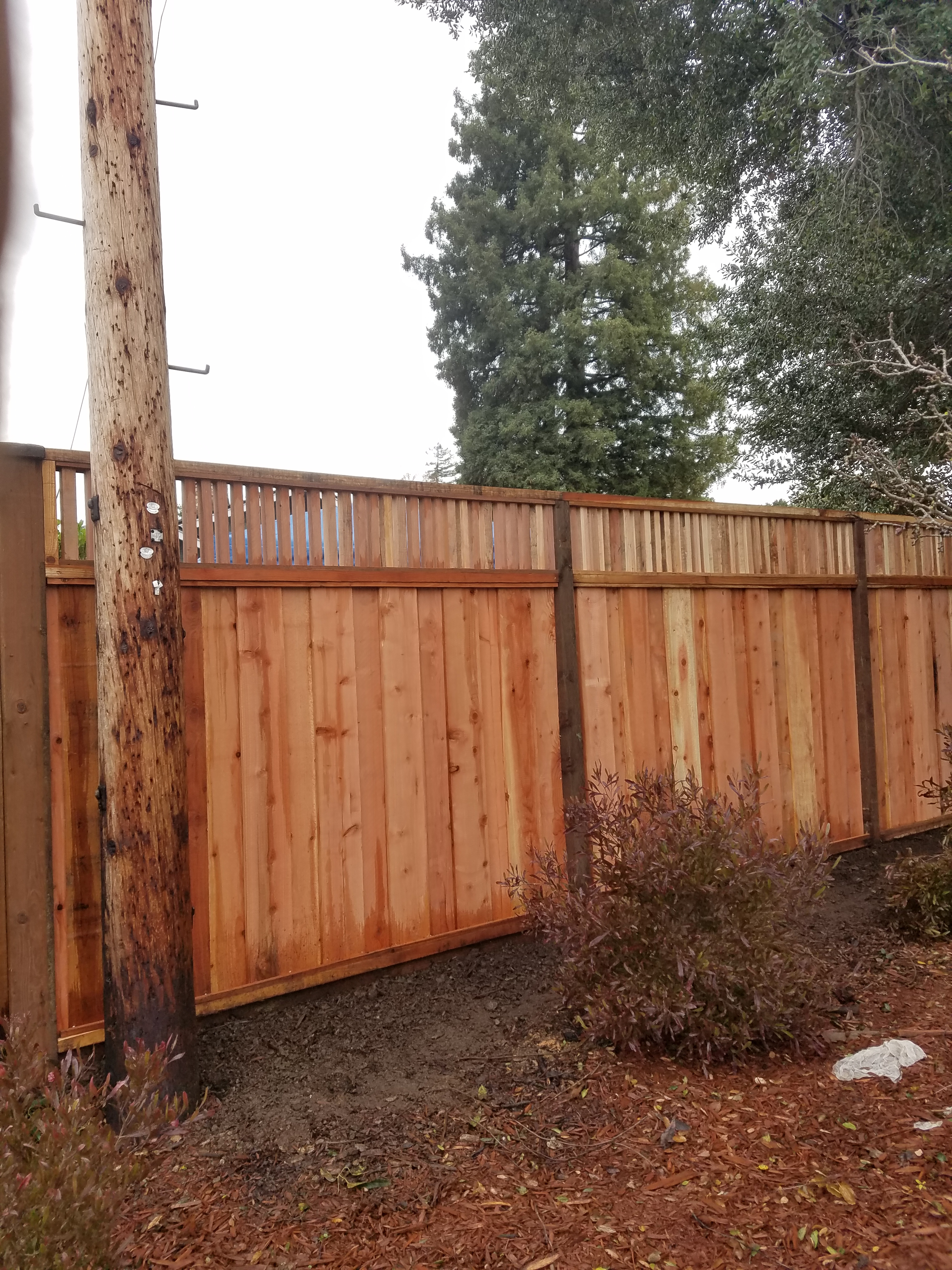 Custom lattice fence
