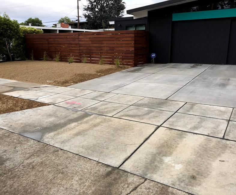 Fence and landscape conversion