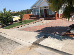 Permeable pavers installation