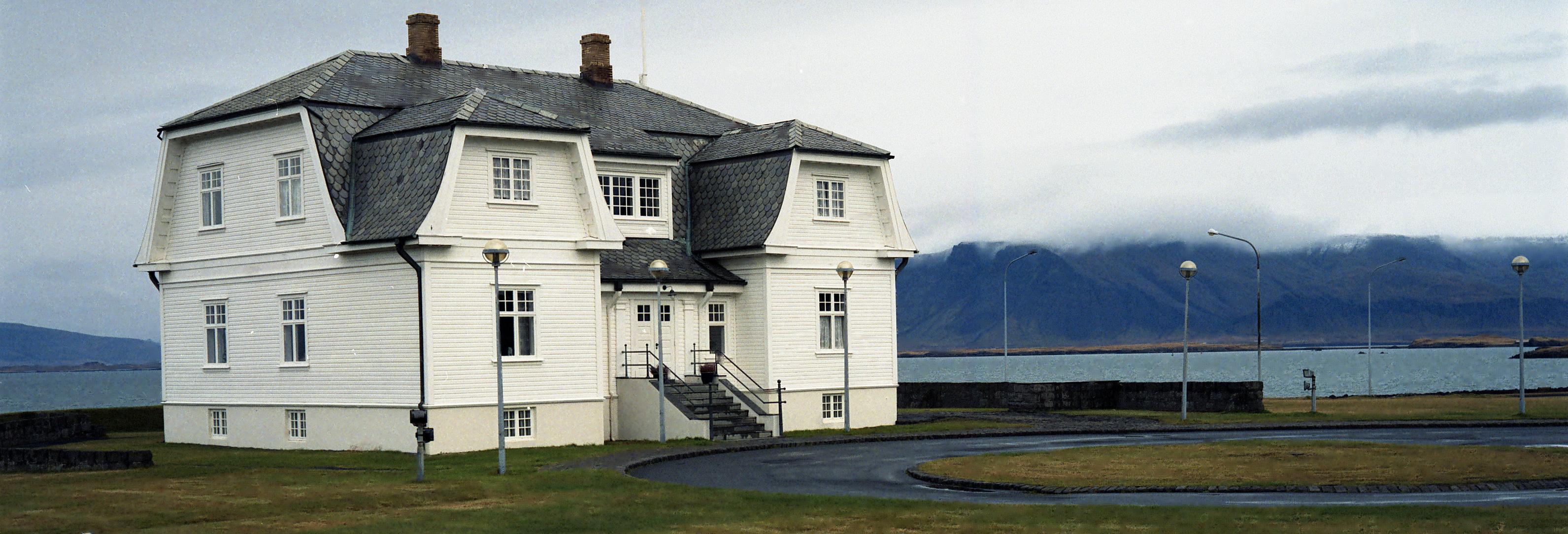 Historical Höfði building