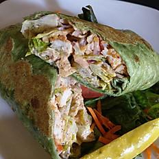 Spicy Chicken Spinach Wrap