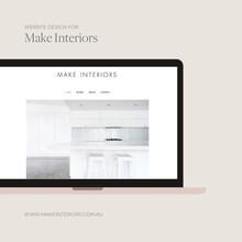 Website Design (Laptop) Make Interiors.j