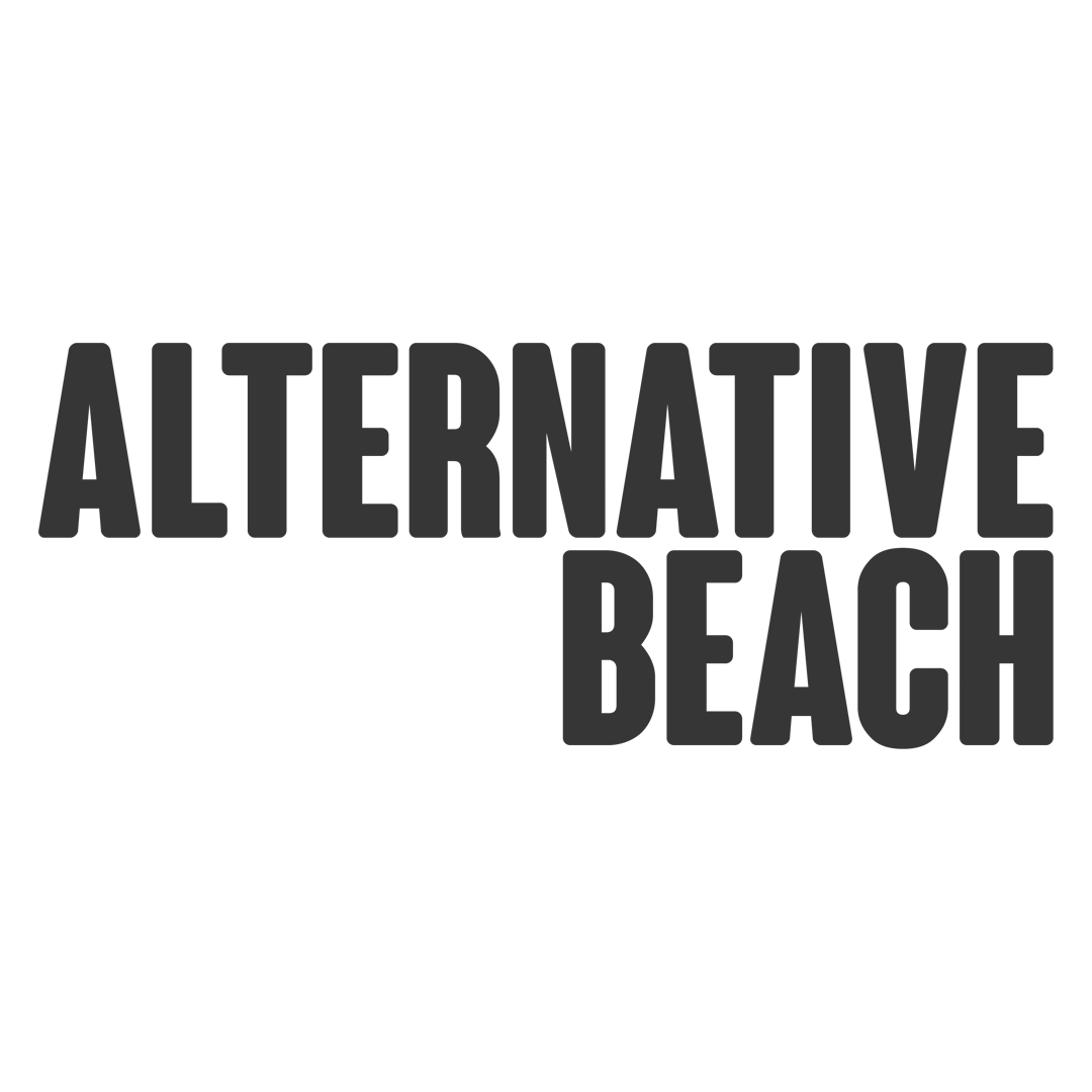 Alternative Beach Logo Website