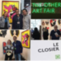 Le Closier at the Other Art Fair Brooklyn.