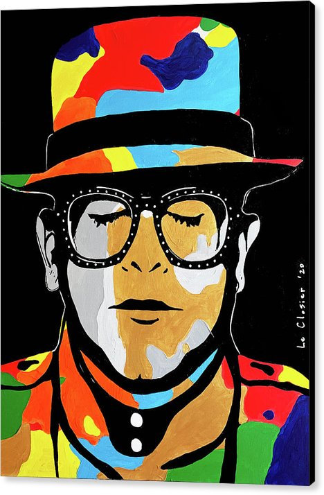 ELTON - PRINT ON CANVAS - READY TO HANG