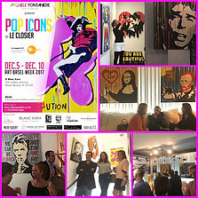 le closier, pop art, pop icons, blanc kara, miami beach