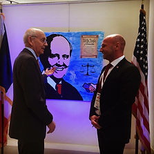 le closier, chief justice stephen breyer, french embassy, washington