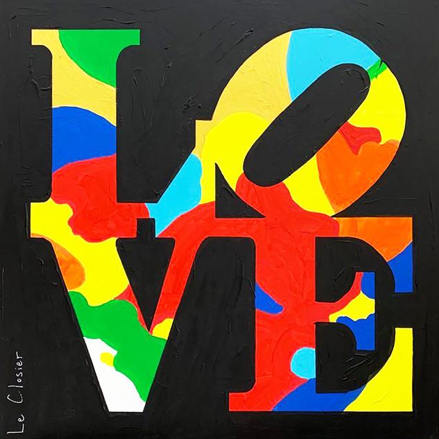 LOVE (TRIBUTE TO ROBERT INDIANA)
