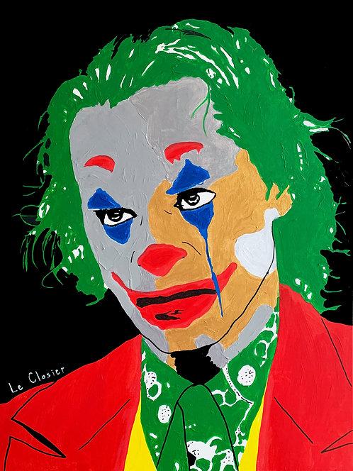 "JOKER - Original painting - 30""x40"""