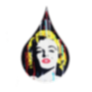 le closier, marilyn monroe, pop art, wall sculpture