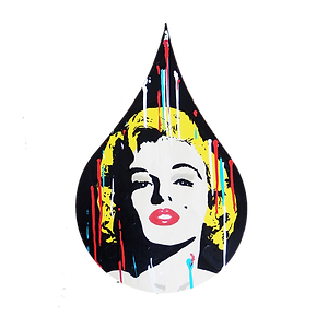 le closier, marilyn monroe, pop art, wall sculpture