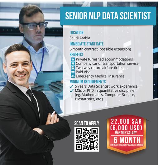 Senior NLP Data Scientist