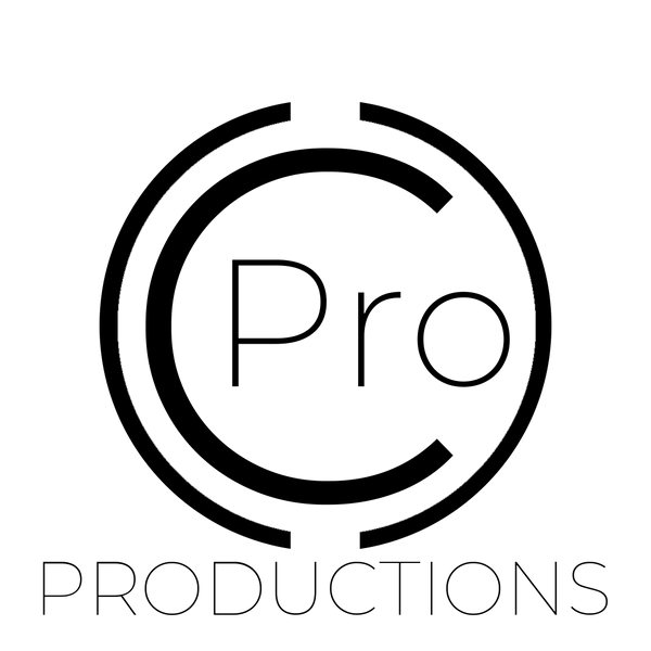 C Pro Productions Logo BW.png