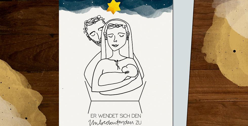 Karte - Maria und Josef