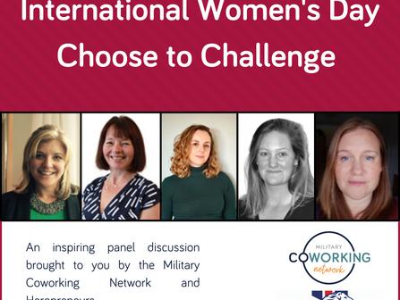 International Women's Day Event 2021 #ChoosetoChallenge