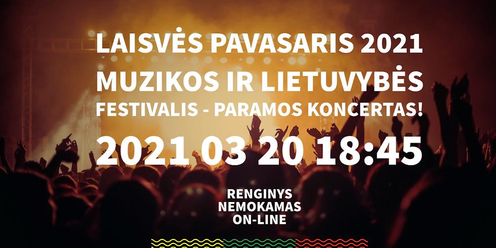 LAISVĖS PAVASARIS 2021