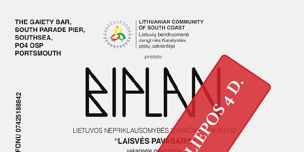 BIPLAN koncertas Portsmouth
