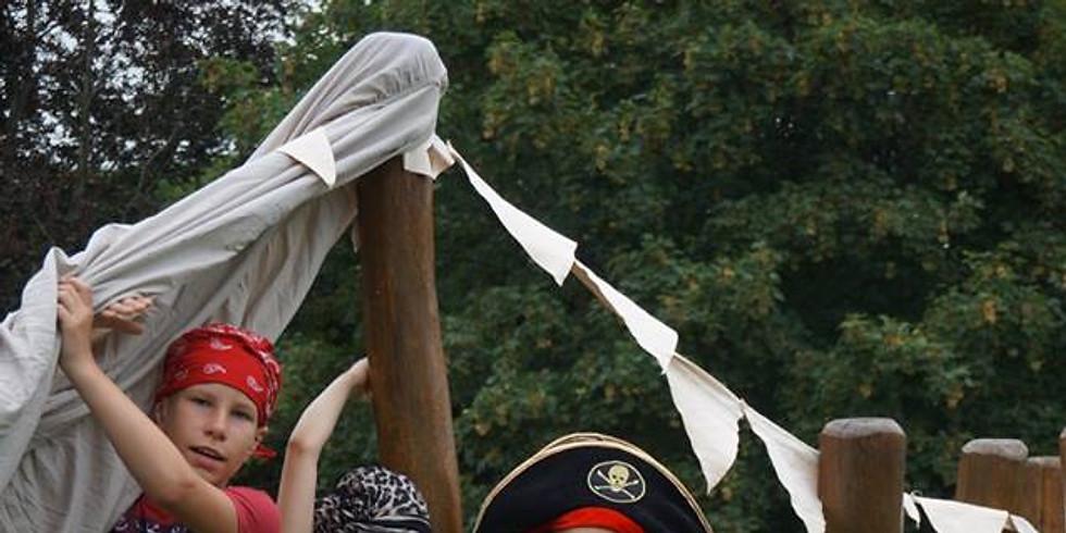 Dienos stovykla - Piratai